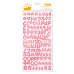 American Crafts - Amy Tangerine Collection - Yes, Please - Thickers - Two-Tone Foam Stickers - Sincere - Grapefruit