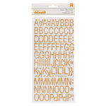 American Crafts - Amy Tangerine Collection - Yes, Please - Thickers - Printed Chipboard Stickers - Goodness - Woodgrain