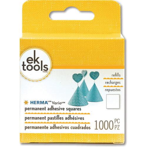 EK Success - Herma Dotto - Permanent Adhesive Squares - Refill