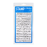 American Crafts - Margarita Collection - Clear Acrylic Stamps - Maria