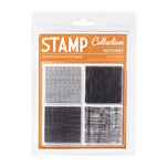 American Crafts - Nightfall Collection - Halloween - Clear Acrylic Stamps - Textures