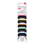 American Crafts - Mini Pigment Ink Pad Set - 6 Pack - Primaries