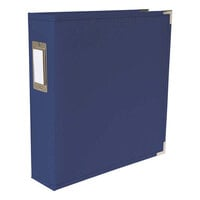 We R Memory Keepers - Classic Leather - 8.5 x 11 - D-Ring Album - Cobalt