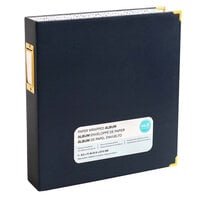 We R Memory Keepers - Paper Wrapped - 8.5 x 11 - D-Ring Album - Navy