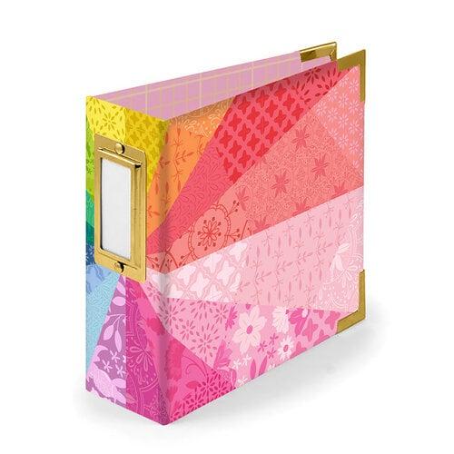 Paige Evans - 4 x 4 - D-Ring Album - Color Wheel