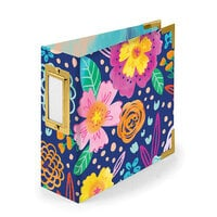 We R Memory Keepers - 4 x 4 - D-Ring Album - Floral
