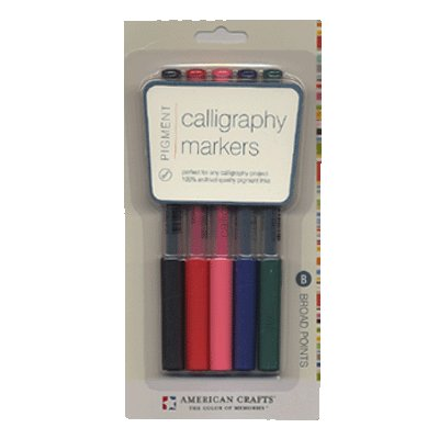 American Crafts - Pigment Colors - Calligraphy - Broad Point