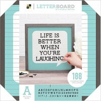 Die Cuts with a View - Letter Board - 12 x 12 - Word Bubble