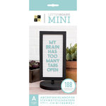 Die Cuts with a View - Letter Board - Mini - Black