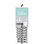 Die Cuts with a View - Letter Board - Letter Packs - 2 Inches - Script - Black