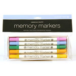 American Crafts - Memory Markers - 5 Pack - Color Set 3