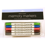 American Crafts - Memory Markers - 5 Pack - Color Set 4