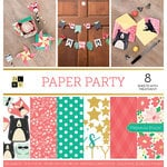 Die Cuts with a View - Paper Party Collection - Foil Paper Stack - 12 x 12