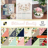 Die Cuts with a View - Botanical Beauty Collection - Foil Paper Stack - 12 x 12