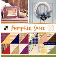 Die Cuts with a View - Pumpkin Spice Collection - Halloween - Foil Paper Stack - 12 x 12