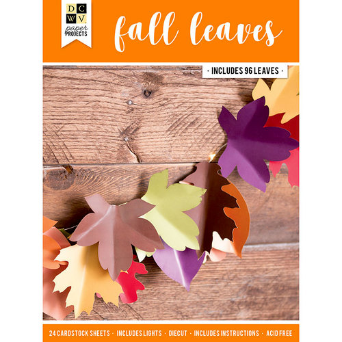 Die Cuts with a View - Halloween - Paper Projects - Fall Leaves