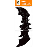 Die Cuts with a View - Halloween - Paper Projects with Glitter Accents - Wall Bats