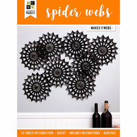 Die Cuts with a View - Halloween - Paper Projects - Spider Webs