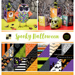 Die Cuts with a View - Spooky Halloween Collection - Halloween - Foil Paper Stack - 12 x 12