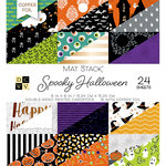 Die Cuts with a View - Spooky Halloween Collection - Halloween - Foil Paper Mat Stack - 6 x 6