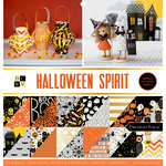 Die Cuts with a View - Halloween Spirit Collection - Halloween - Foil Paper Stack - 12 x 12