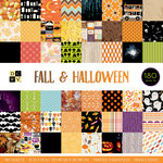 Die Cuts with a View - Fall and Halloween Collection - Halloween - Paper Stack - 12 x 12