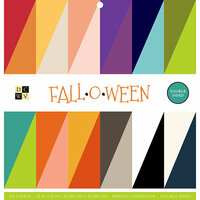 Die Cuts with a View - Fall-O-Ween Collection - Halloween - Paper Stack - 12 x 12