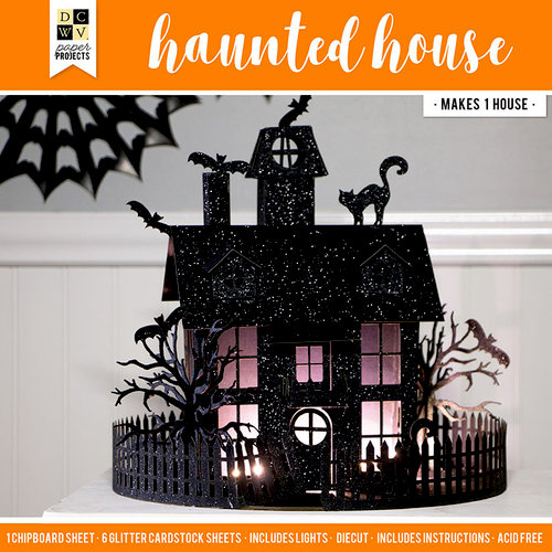 Die Cuts with a View - Halloween - Paper Projects - Haunted House