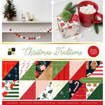 Die Cuts with a View - Christmas Traditions Collection - Foil Paper Stack - 12 x 12
