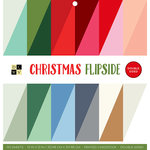 Die Cuts with a View - Christmas Flipside Collection - Paper Stack - 12 x 12