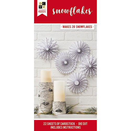 Die Cuts with a View - Christmas - Paper Projects - Snowflakes