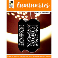Die Cuts with a View - Halloween - Paper Project - Luminaries