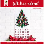 Die Cuts with a View - Christmas - Paper Projects - Felt Tree Advent