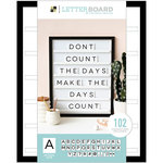 Die Cuts with a View - Letter Board - Sliding - Black - 16 x 20