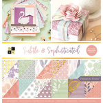 Die Cuts with a View - Subtle and Sophisticated Collection - Foil Paper Stack - 12 x 12
