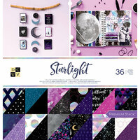 Die Cuts with a View - Starlight Collection - Foil Paper Stack - 12 x 12