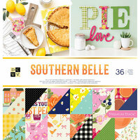 Die Cuts with a View - Southern Belle Collection - Foil Paper Stack - 12 x 12