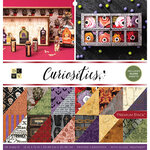 Die Cuts with a View - Curiosities Collection - Gloss Paper Stack - 12 x 12