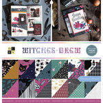 Die Cuts with a View - Witches Brew Collection - Foil Paper Stack - 12 x 12