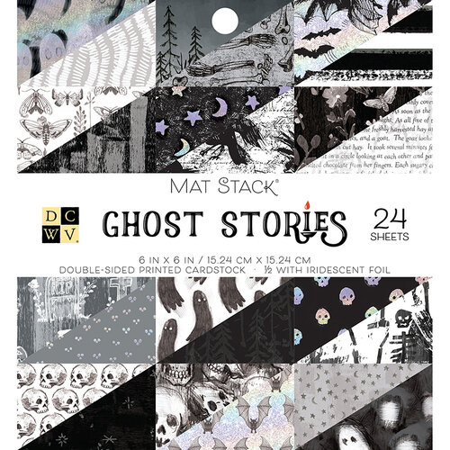 Die Cuts with a View - Ghost Stories Collection - Foil Paper Stack - 6 x 6