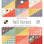 Die Cuts with a View - Fall Forest Collection - Foil Paper Stack - 6 x 6