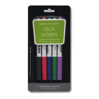 american crafts   slick writers   medium point   5 pack