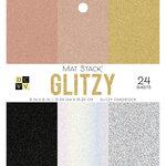 Die Cuts with a View - Glitzy - Glitter Mat Stack - 6 x 6