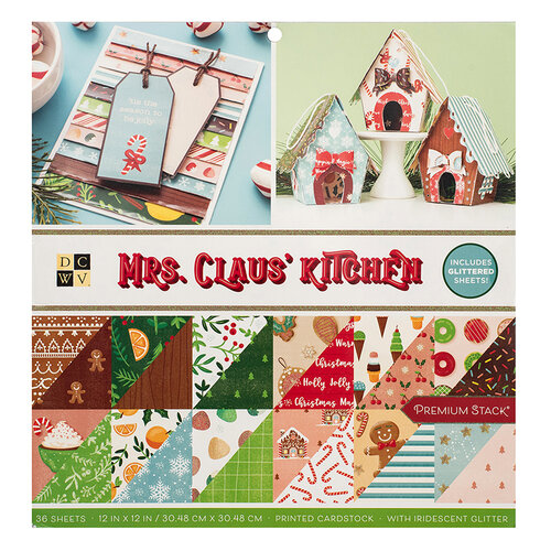 Die Cuts with a View - Christmas - Mrs. Claus