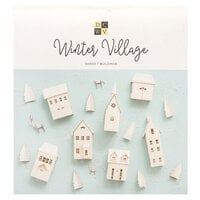 Die Cuts with a View - Christmas - Paper Projects - Winter Village