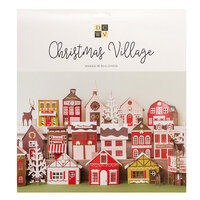 Die Cuts with a View - Christmas - Paper Projects - Christmas Village