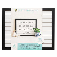 Die Cuts with a View - Letter Board - Shiplap - 20 x 16