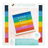 Die Cuts with a View - Letter Board - Multicolor - 12 x 12