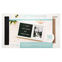 Die Cuts with a View - Letter Board - Photo - 15.5 x 9