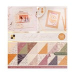 Die Cuts with a View - 12 x 12 Double Sided Paper Stack - English Garden - Gold Foil Accents